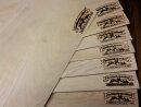 GRILLSCHMECKER Wood Wraps aus Buchenholz 30x20cm 8...