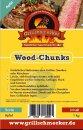 GRILLSCHMECKER Wood Chunks Apfel 1kg