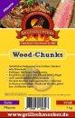 GRILLSCHMECKER Wood Chunks Pflaume 1kg