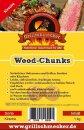 GRILLSCHMECKER Wood Chunks Kirsche 1kg