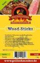 GRILLSCHMECKER Wood Sticks Esche 1kg