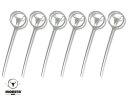 MOESTA BBQ  BurgerSpieß: 6er Set Edelstahl