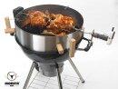 MOESTA BBQ  Smokin PizzaRing - Rotisserie Set  57 cm