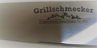 GRILLSCHMECKER Messer mit Kunststoffgriff