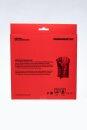 FEUERMEISTER© Premium BBQ Grillhandschuhe Leder rot...