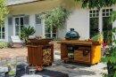 OFYR Kamado Table PRO Teak Wood  für BGE