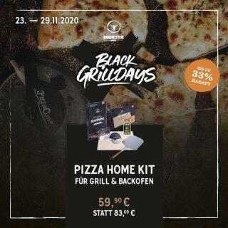 MOEATS BBQ Pizza Home Kit für Grills & Backofen