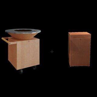 OFYR Classic Corten 100 to PRO Upgrade Set - Block Teakholz