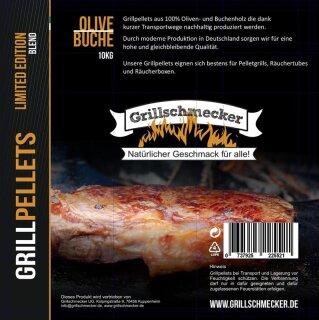 GRILLSCHMECKER Sonderedition Olive-Buche 10kg